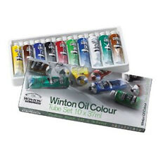 Winsor & Newton Winton aceite 10 X 37ml Artistas Pintura Tubo Box Set