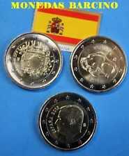 2015 2 EUROS DE ESPAÑA CONMEMORATIVO COIN EURO SPAIN BISONTE BANDERA EUROPA REY