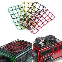 Elastic Luggage Net W/Hook for 1/10 SCX10 D90 TRX4 RC Truck Roof Rack Crawler