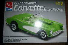AMT 1957 CHEVY CORVETTE STREET MACHINE  Model Car Mountain KIT OPEN