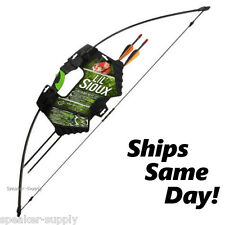 Barnett Lil Sioux Junior Recurve Bow and Arrow 1071 Kids Childs Archery Set 4H