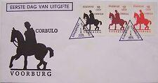 Stadspost Voorburg 1970 - FDC Corbulo (Romeinse legeraanvoerder en gouverneur)