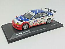 MINICHAMPS 1/43 BMW M3 GTR ALMS Petit Le Mans 2001 400012106 Stuck Said Auberlen