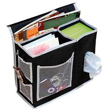 Bedside Caddy Mattress Pocket Bed Organizer Hanging Holder Book Storage Bag