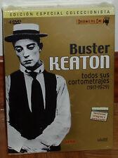 BUSTER KEATON ORIGENES DEL CINE PACK 4 DVD 1917-1929 NUEVO RESTAURADAS CINE MUDO