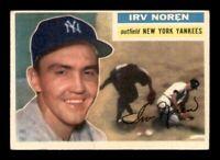 1956 Topps Set Break # 253 Irv Noren EX *OBGcards*