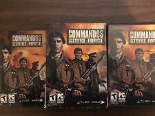 Commandos Strike Force PC Excellent Condition Complete