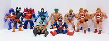 Vintage Lot of 11 He-Man Masters of the Universe Figures MOTU with Battle Bones