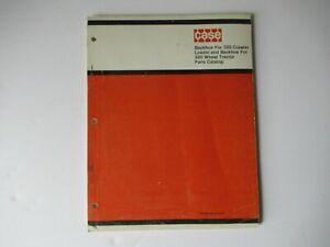 1971 Case backhoe for 320 crawler wheel tractor parts catalog manual