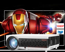 LED96+ 5000 Lumen 3D LED Home Cinema Theater Projector HDMI USB Support HD 1080P