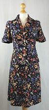 Finnish Vintage Soili Tuote 1960s Floral Blouse & Skirt Set