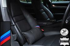 1x per BMW M strisce beige tale genuine leather lusso Seggiolino Auto Cuscino