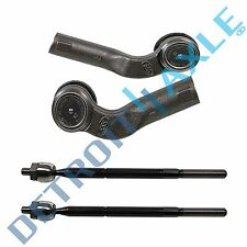 Mazda 3 5 Steering Inner Outer Tie Rod End Link Set - Driver & Passenger Side