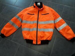 MASCOT® SAFE ARCTIC Pilotjacke Warnschutzjacke - St. Moritz, orange, Größe L