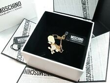 Original Moschino My little Puppy Gold plated  Hals Kette MJ0026