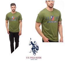 U.S. POLO ASSN. Mens Deer T-Shirt Chive Uk S