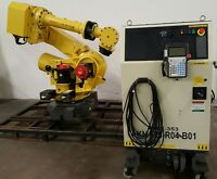 Fanuc R2000iB Robot 210F R30iA Controller -TESTED - LOW HOURS - Complete