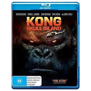 Kong Skull Island (Blu-ray, 2017)