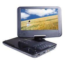 Majestic dvx180 lettore dvd portatile 9' girevole riproduce usb sd telecomando