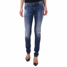 DIESEL LIVIER 084GJ Womens Denim Jeans Slim Fit Distressed Trouser Casual Pants