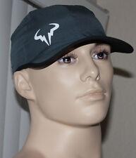 Nike TENNIS Unisex Rafa Bull Featherlight DriFit Gray/Black/White Cap Hat Sz OS*