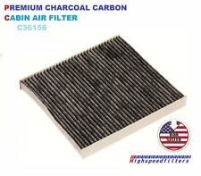 C36156 CARBONIZED CABIN AIR FILTER FOR DODGE DURANGO & JEEP GRAND CHEROKEE