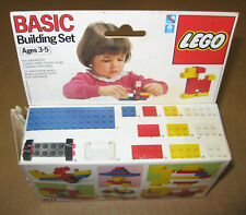 Vintage 1987 LEGO Basic Building Set #307 Opened Box