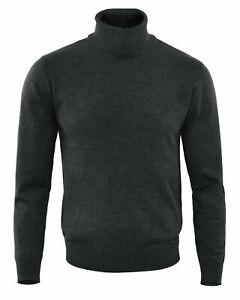 Maglia Collo Alto Da Uomo Dolcevita Slim Pullover Dolcevita Maglione MD005