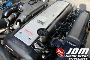 TOYOTA CROWN JZS171 2.5L VVTI TURBO ENGINE AUTO TRANS LOOM JDM 1JZGTE 6149362