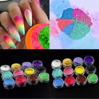 12PCS Multi-Color Mica Pigment Powder Soap Cosmetics Nail Art Colorant Dye