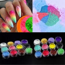 12Pcs/Set Natural Mica Pigment Powder For Soap Slime Mud Resin Dyes DIY