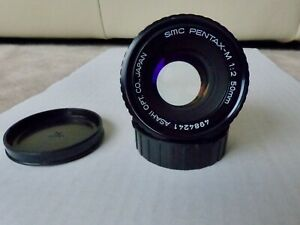 "Asahi Pentax-M SMC 1:2/50mm mit Pentax K PK Bajonett Filtergewi. 49mm ""sehr gut"""