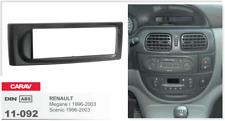 Carav 11-092 1-din marco adaptador de radio Renault Megane 96-02 Scenic 96-03