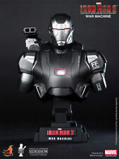 HOT TOYS IRON MAN 3 WAR MACHINE 1/4 SCALE LIMITED EDITION BUST HTB10 NEW