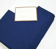 Pottery Barn 400 Thread Count Cotton Classic Cuff Blue Full Queen Duvet Cover
