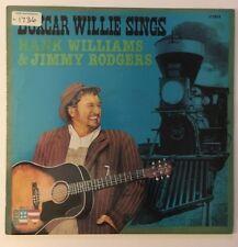 BOXCAR WILLIE : Plays Hank Williams & Jimmie Rodgers - Vinyl Lp