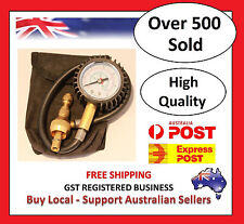 TYRE DEFLATOR ~ GAUGE ~ FREE POST ~ FREE POUCH ~ TIRE DEFLATORS FOR 4X4 4WD