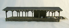 HO Scale Craftsman Train Depot - wood - built-up - weathered