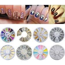 Nail Art Accessories Crystal Rhinestone Christmas Wheel Decoration  Tool