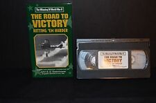 THE ROAD TO VICTORY HITTING 'EM HARDER VHS TAPE