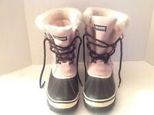 Ozark Trail Thinsulate Insulator 2561391 Griz09 Leather Snow Winter Boots Size 9