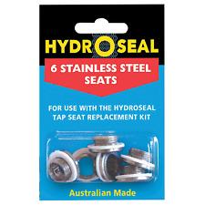 HydroSeal 6 Piece Stainless Steel Tap Repair Kit- Australia Made