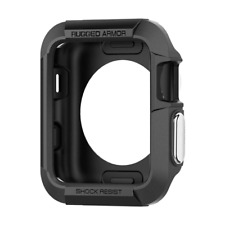Spigen Rugged Armor Apple Watch Case 38mm Resilient Shock Absorption Series 3 /