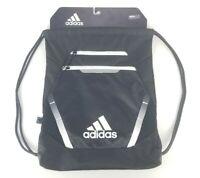 Adidas Rumble III SackPack Drawstring Backpack Black White New 0139176