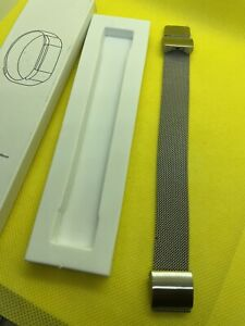 FITBIT CHARGE 2 ARMBAND - 17 / 20 cm - silber Farben - fein gegliedert - NEU