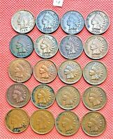 1899-1907 INDIAN HEAD CENTS, PENNY, 20 HIGH GRADE COINS #4