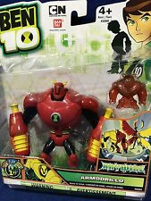 "New - ARMODRILLO - 4"" Ben 10 - HAYWIRE - Action Figures MINI - Bandai #32264"