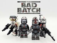 Star Wars The Bad Batch Clone Force 99 Minifigures 4 Set - USA SELLER