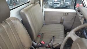 TOYOTA LANDCRUISER FRONT SEAT 70 SERIES, UTE, LH FRONT (3/4 BENCH), VINYL, TAN &