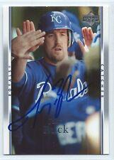 John Buck signed 2006 Upper Deck baseball Kansas City Royals autograph #127